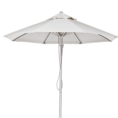 Frankford Umbrellas 9' Market Umbrella; White WYF078277683154