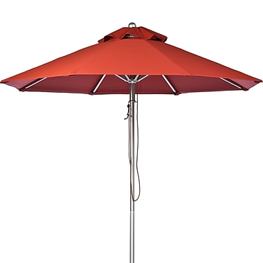 Frankford Umbrellas 9' Market Umbrella; Terra Cotta