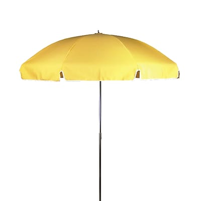 Frankford Umbrellas 7.5' Drape Umbrella; Sunflower Yellow