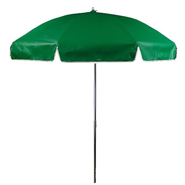 Frankford Umbrellas 7.5' Drape Umbrella; Kelly Green
