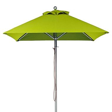 Frankford Umbrellas 6.5' Square Market Umbrella; Pistachio