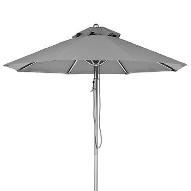 Frankford Umbrellas 7.5' Market Umbrella; Cadet Gray