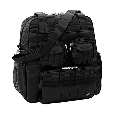 Lug Puddle Jumper Overnight/Gym Bag, Midnight Black