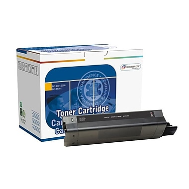 DATAPRODUCTS® Reman Black Toner Cartridge, OKI C5100, High Yield (DPC5100B)