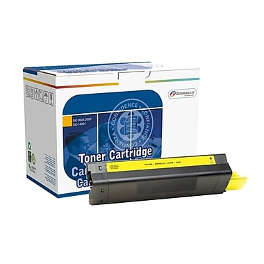 DATAPRODUCTS® Reman Yellow Toner Cartridge, OKI C5100, High Yield (DPC5100Y)