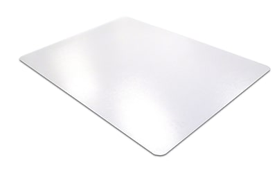 Floortex Cleartex Mat 60''x60'' Polycarbonate Chair Mat for Carpet, Rectangular (FR1115015023ER)