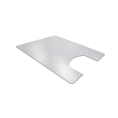 Floortex Anti-Microbial Toilet Mat, Rectangular with Cut Out (48