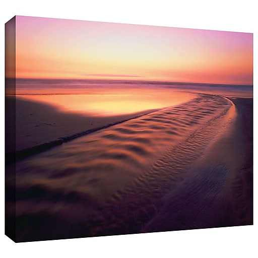 """ArtWall 'Back To The Sea' Gallery-Wrapped Canvas 18"""" x 24"""" (0uhl005a1824w)"""