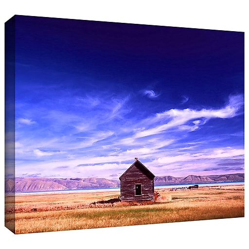 "ArtWall 'Bear Lake Autumn' Gallery-Wrapped Canvas 18"" x 24"" (0uhl006a1824w)"