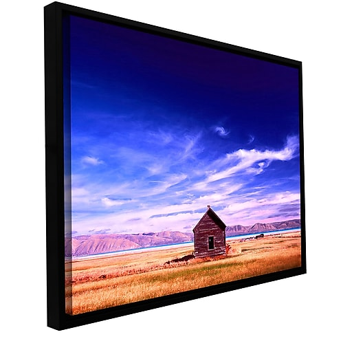 "ArtWall ""Bear Lake Autumn"" Gallery-Wrapped Canvas 24"" x 32"" Floater-Framed (0uhl006a2432f)"