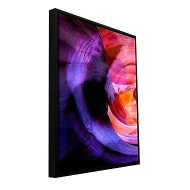 ArtWall 'Canyon Echoes' Gallery-Wrapped Floater-Framed Canvas 24