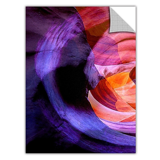 """ArtWall 'Canyon Echoes' Art Appeelz Removable Wall Art Graphic 14"""" x 18"""" (0uhl007a1418p)"""