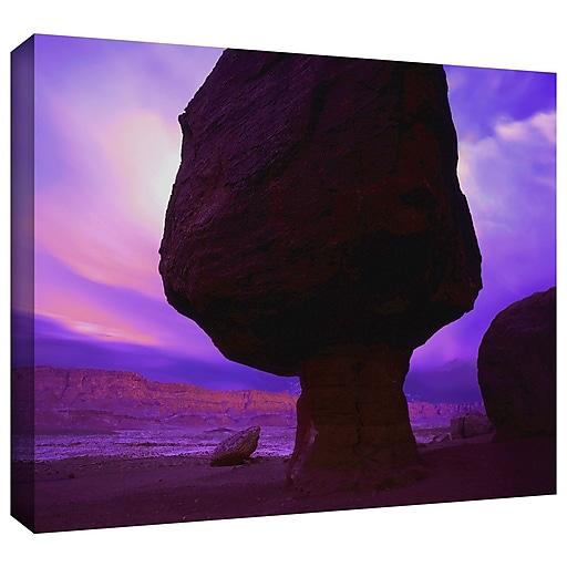 "ArtWall 'Echo Cliffs Storm Light' Gallery-Wrapped Canvas 24"" x 32"" (0uhl009a2432w)"