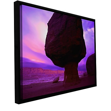 ArtWall 'Echo Cliffs Storm Light' Gallery-Wrapped Canvas 36