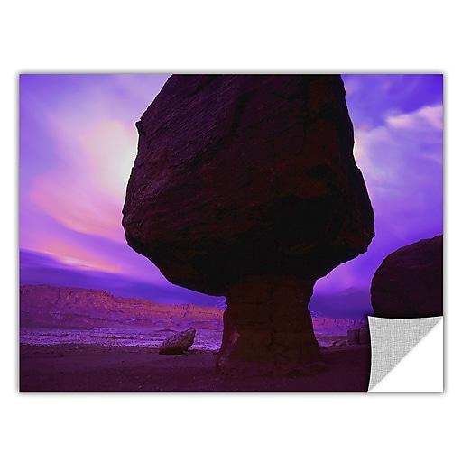 """ArtWall 'Echo Cliffs Storm Light' Art Appeelz Removable Wall Art Graphic 36"""" x 48"""" (0uhl009a3648p)"""