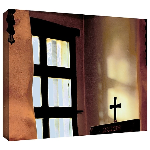"ArtWall 'Misson Light' Gallery-Wrapped Canvas 36"" x 48"" (0uhl011a3648w)"
