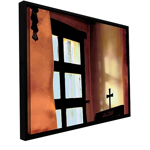"ArtWall 'Misson Light' Gallery-Wrapped Canvas 14"" x 18"" Floater-Framed (0uhl011a1418f)"