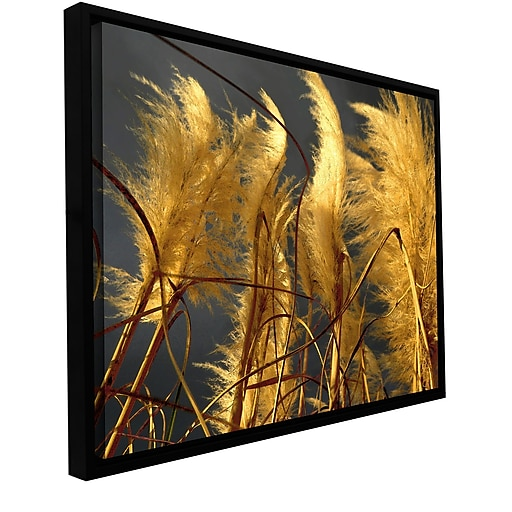 "ArtWall 'Storm Swept' Gallery-Wrapped Canvas 18"" x 24"" Floater-Framed (0uhl015a1824f)"
