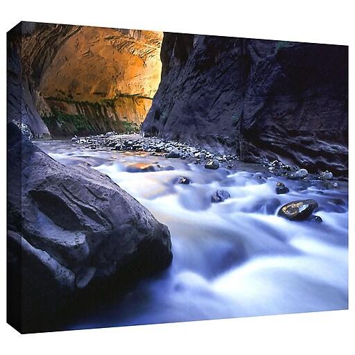 "ArtWall ""Wirgin Narrows"" Gallery-Wrapped Canvas 36"" x 48"" (0uhl018a3648w)"