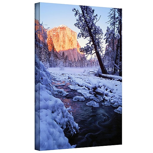 """ArtWall """"Winter Paradise"""" Gallery-Wrapped Canvas 14"""" x 18"""" (0uhl019a1418w)"""