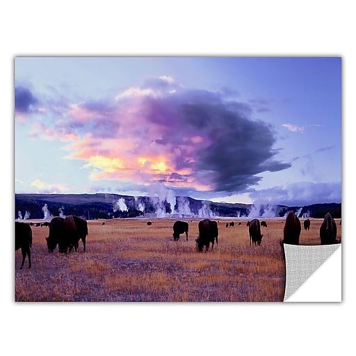 "ArtWall ""Yellowstone Autumn"" Art Appeelz Removable Wall Art Graphic 24"" x 48"" (0uhl020a2448p)"