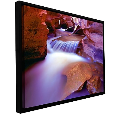 ArtWall 'Fremont River Slot' Gallery-Wrapped Canvas 36