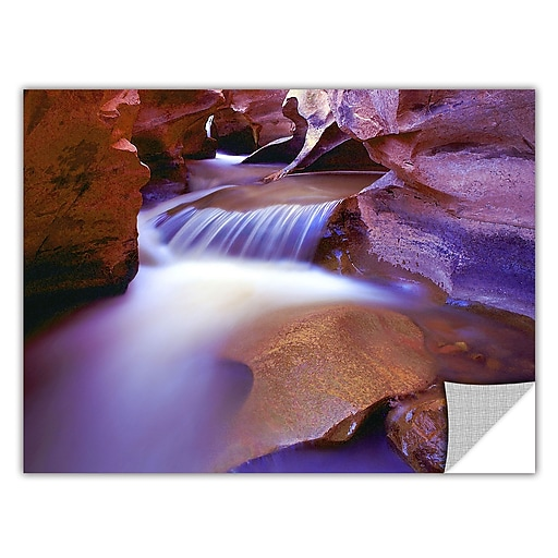 "ArtWall 'Fremont River Slot' Art Appeelz Removable Wall Art Graphic 36"" x 48"" (0uhl025a3648p)"