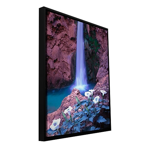 "ArtWall ""Havasu Spring"" Gallery-Wrapped Canvas 14"" x 18"" Floater-Framed (0uhl026a1418f)"