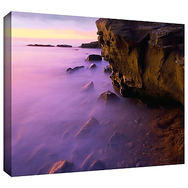 ArtWall 'La Jolla Twilight' Gallery-Wrapped Canvas 18