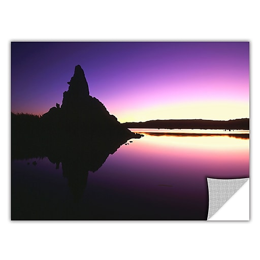 "ArtWall 'Mono Lake Dawn' Art Appeelz Removable Wall Art Graphic 24"" x 32"" (0uhl029a2432p)"