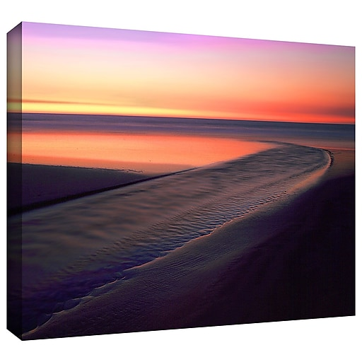 "ArtWall 'Out To Sea' Gallery-Wrapped Canvas 36"" x 48"" (0uhl030a3648w)"
