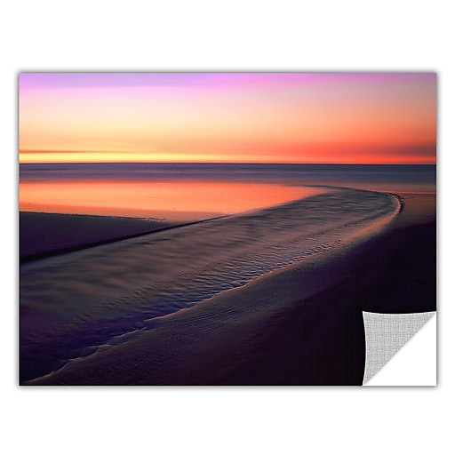 "ArtWall 'Out To Sea' Art Appeelz Removable Wall Art Graphic 24"" x 32"" (0uhl030a2432p)"