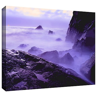 ArtWall 'Patricks Point Sunset' Gallery-Wrapped Canvas 18