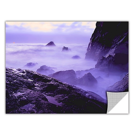 "ArtWall 'Patricks Point Sunset' Art Appeelz Removable Wall Art Graphic 18"" x 24"" (0uhl033a1824p)"