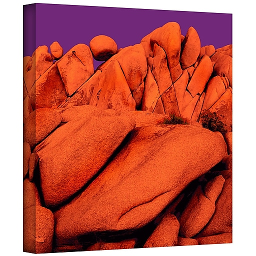 "ArtWall 'Santa Ana Afterglow' Gallery-Wrapped Canvas 18"" x 18"" (0uhl034a1818w)"