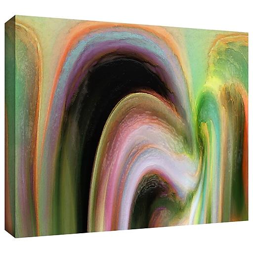 """ArtWall """"Suculenta Polar"""" Gallery-Wrapped Canvas 24"""" x 36"""" (0uhl036a2436w)"""