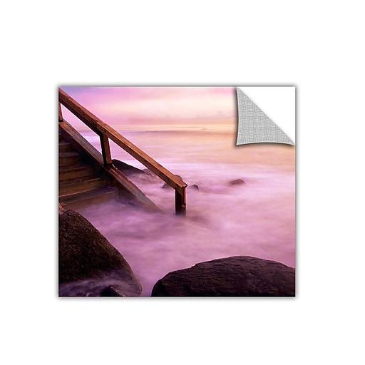 """ArtWall 'To Somewhere' Art Appeelz Removable Wall Art Graphic 24"""" x 24"""" (0uhl040a2424p)"""