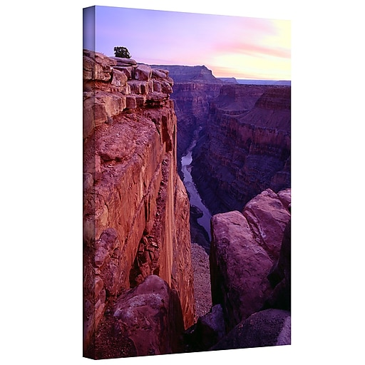 "ArtWall 'Tuweep Overlook' Gallery-Wrapped Canvas 14"" x 18"" (0uhl043a1418w)"