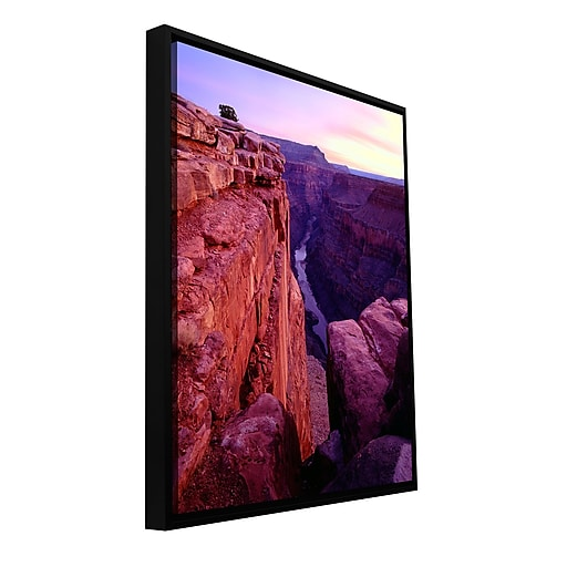 "ArtWall 'Tuweep Overlook' Gallery-Wrapped Canvas 36"" x 48"" Floater-Framed (0uhl043a3648f)"