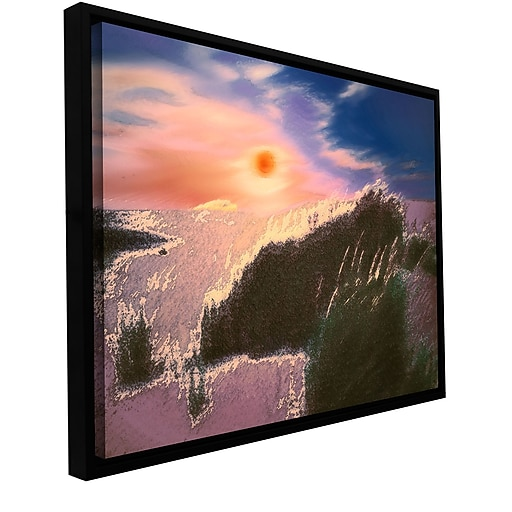 """ArtWall """"Windswept"""" Gallery-Wrapped Canvas 14"""" x 18"""" Floater-Framed (0uhl045a1418f)"""