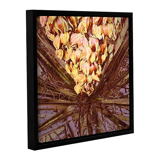 "ArtWall 'Yucca Impression' Gallery-Wrapped Canvas 18"" x 18"" Floater-Framed (0uhl046a1818f)"