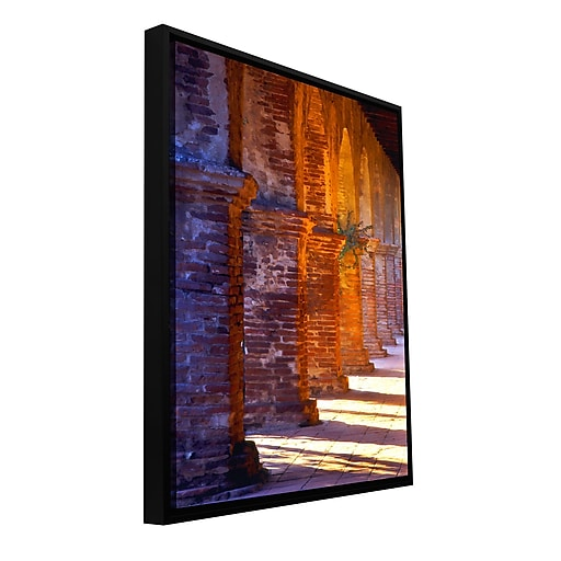 "ArtWall 'Capistrano' Gallery-Wrapped Floater-Framed Canvas 14"" x 18"" (0uhl048a1418f)"