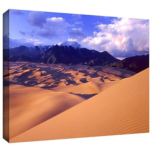 "ArtWall 'Great Sand Dunes' Gallery-Wrapped Canvas 14"" x 18"" (0uhl052a1418w)"