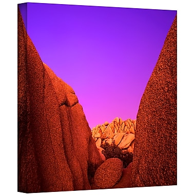 ArtWall 'Jumbo Rocks Afterglow' Gallery-Wrapped Canvas 18