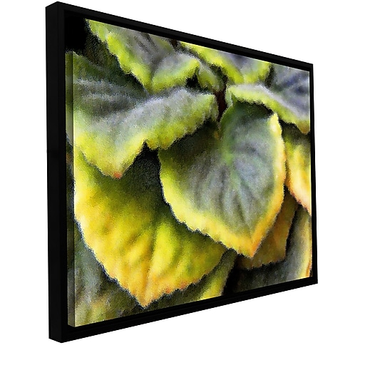 """ArtWall 'Layers' Gallery-Wrapped Canvas 14"""" x 18"""" Floater-Framed (0uhl056a1418f)"""