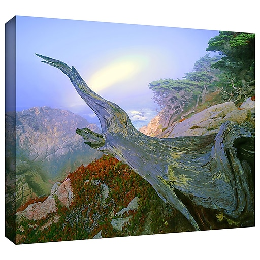 "ArtWall 'Like A Flame' Gallery-Wrapped Canvas 14"" x 18"" (0uhl057a1418w)"