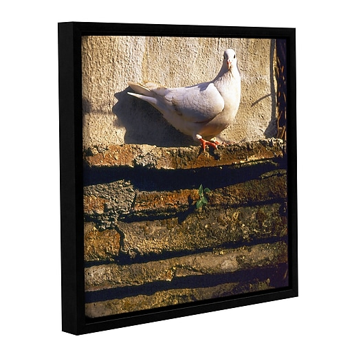 """ArtWall 'Mission Dweller' Gallery-Wrapped Canvas 36"""" x 36"""" Floater-Framed (0uhl059a3636f)"""