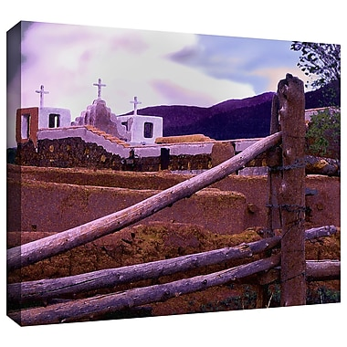 ArtWall 'Twilight Taos' Gallery-Wrapped Canvas 24