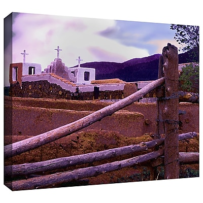 ArtWall 'Twilight Taos' Gallery-Wrapped Canvas 18