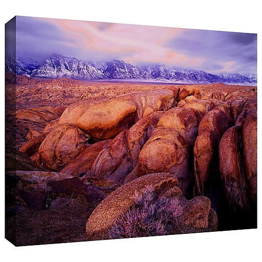 "ArtWall 'Sierra Dawn Storm Light' Gallery-Wrapped Canvas 24"" x 32"" (0uhl064a2432w)"
